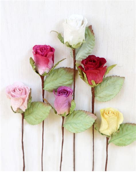 Small Paper Roses   Craft, Weddings, Favours, Gifts
