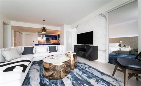 Living Room Fort Lauderdale W Hotel Beachfront Condos At W Fort Lauderdale Realtor