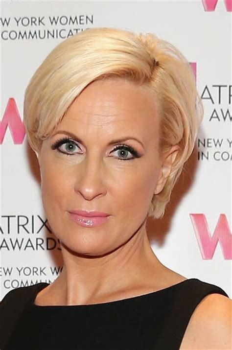 does mika brzezinski color her hair short blonde hairstyles my favorite picks