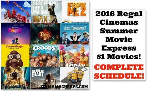 2016 film lineup 2016 regal cinemas summer 1 movies schedule mama cheaps