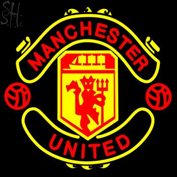 Custom Manchester United custom manchester united neon sign 1 your custom signs