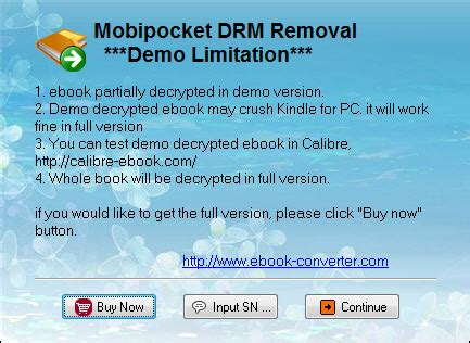 how to convert mobipocket ebook mobipocket drm removal remove mobi drm protection