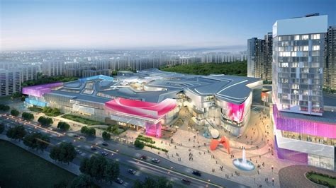layout of international mall ta summer international retail centre and mixed use