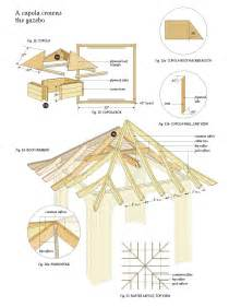 free blueprints woodwork wooden gazebo plans pdf plans