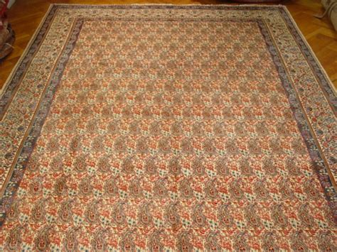 10x16 rug 10x16 area rugs paisley ppersian signed work genuine handmade carpet ebay