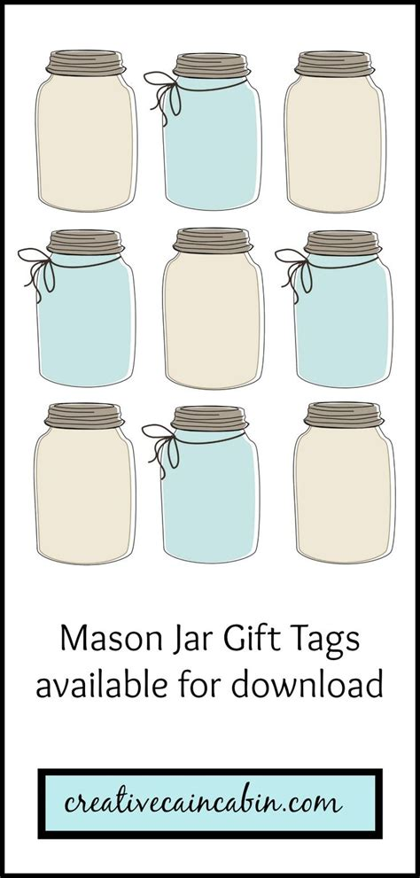 jar tags template 25 best ideas about gift tag templates on tag