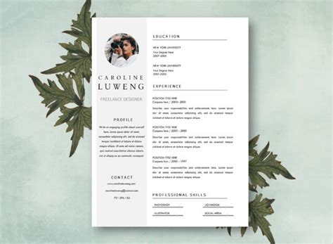 photography cv template photographer resume 8 free sles exles format