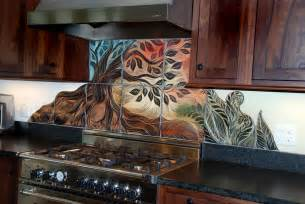 How To Make A Kitchen Backsplash by Handmade Sgraffito Carved Ceramic Backsplash Tiles By