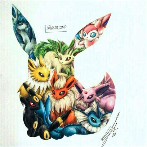 eevee tattoo 23 awesome eevee tattoos