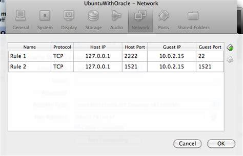 virtualbox forwarding network adapters in virtualbox integrating stuff