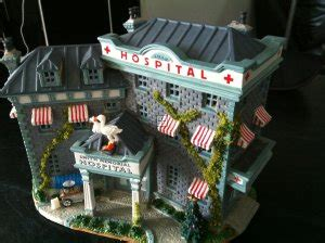 lemax christmas village hospital re painting lemax buildings re painted lemax smith s hospital hints painting smith