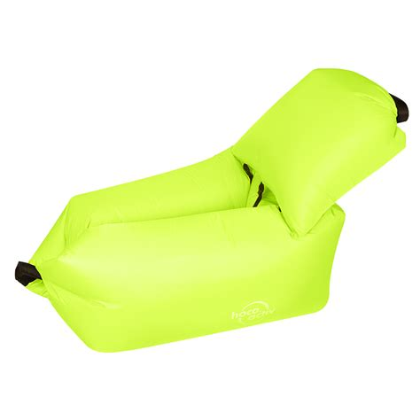 Kasur Angin Comfort Green hoco reo kasur angin lazy bean bag sofa green