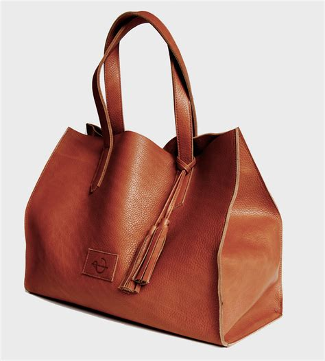 Leather Totebag equestrian leather tote bag s bags carry goods ateliercg scoutmob product detail