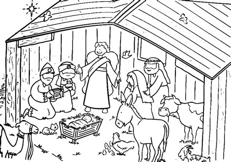 coloring page birth of jesus birth of jesus coloring pages nativity of jesus coloring
