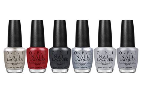 opi grey nail polish names opi s fifty shades of grey collection is going to make