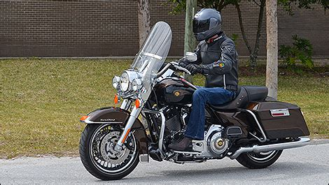 most comfortable motorcycle riding position 2013 harley davidson road king review