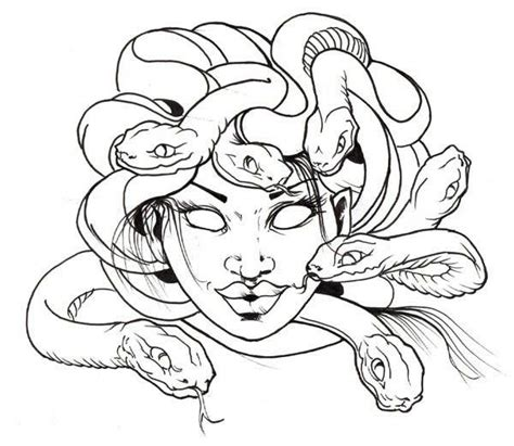 medusa coloring page home medusa awesome medusa snake hair coloring page