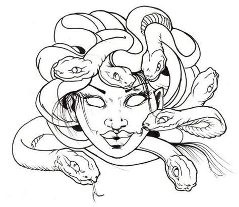 medusa coloring pages images home medusa awesome medusa snake hair coloring page