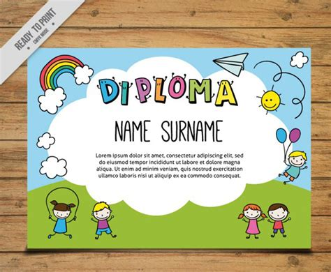 diplomas escolares infantiles para ni 241 os para imprimir y diplomas para bebes tarjetas tarjetitas diplomas 6