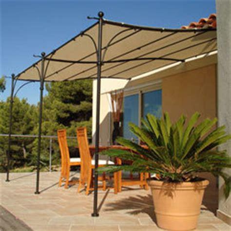 Anbau Pavillon 4x3 by Tonnelle Murale Provence En Fer Forg 233 E 3x4 M Couleur Du