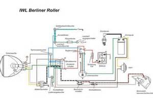Ural Motorrad H Ndler Berlin by Kabelbaum Berliner Roller Wiesel Iwl Mit Schaltplan
