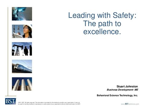 Stuart Johnston Leading With Safety The Path To Excellence