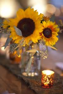 sunflower centerpieces let s learn about flowers sunflower edition planning it all