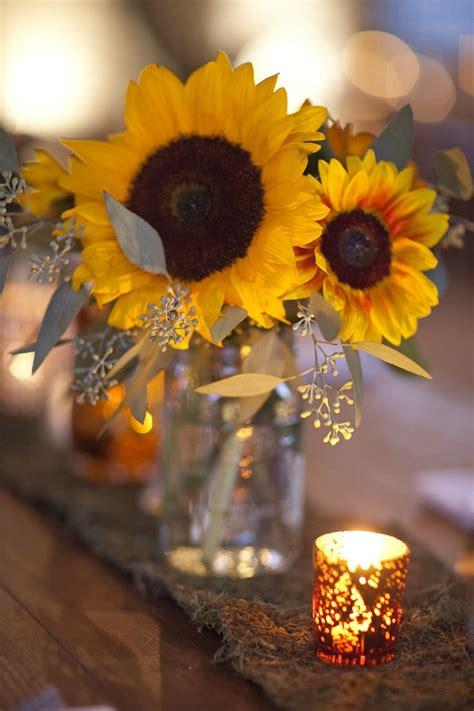 Sunflower Centerpieces For Weddings Let S Learn About Flowers Sunflower Edition Planning It All