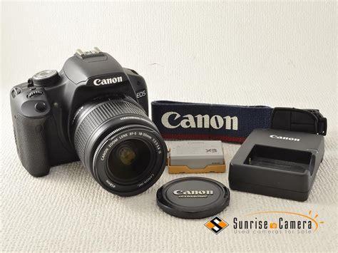 Kamera Canon Eos X3 canon eos x3 ef s 18 55mm