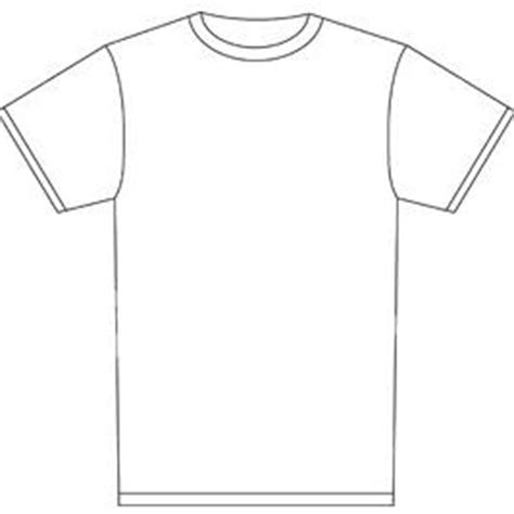 blank tshirt template blank shirt templates clipart best