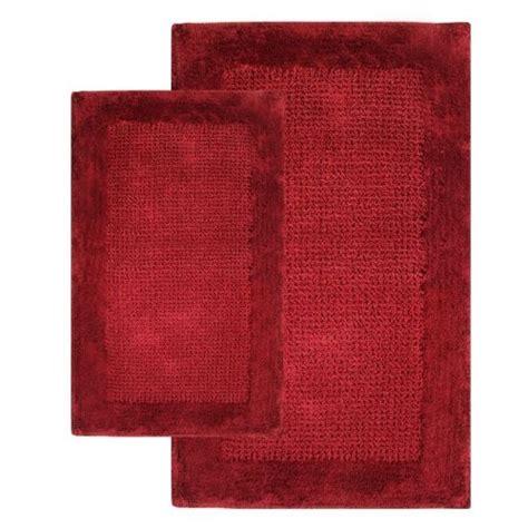 red bathroom rug red bathroom decor