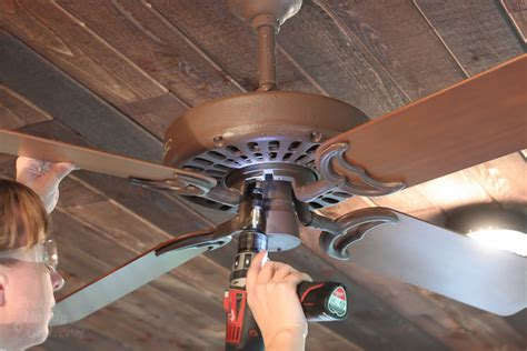 Remove Ceiling Fan by Installing The Most Beautiful Ceiling Fan I Laid