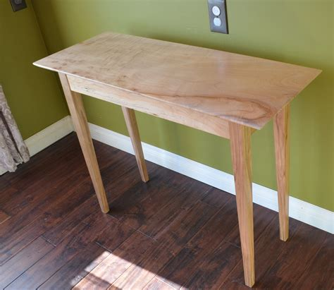 Shaker Style Sofa Table made shaker style sofa table by thompson heritage