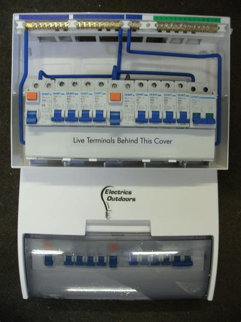 Chint Mcb Eb 1 P 20 A 4 5ka chint 17th edition 8 way split load consumer unit dual rcd 4 4 fully loaded mcb other