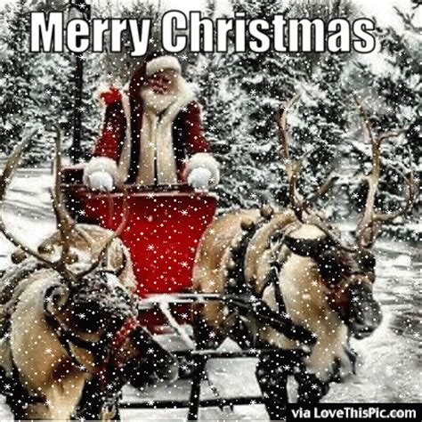 merry christmas gif quote  santa  snow pictures   images  facebook tumblr