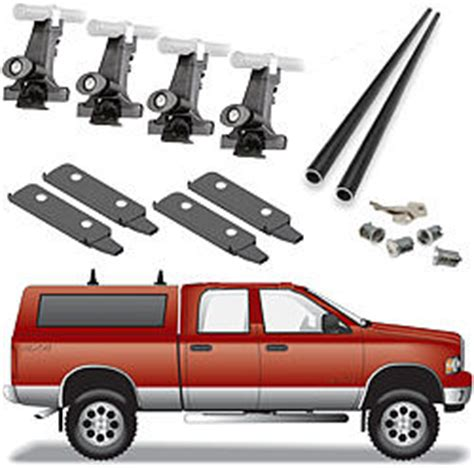 Truck Cap Roof Rack by Truck Accessories Gt Truck Racks Gt Truck Cap Roof Racks