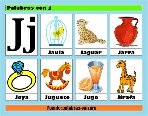 imagenes que empiecen con la letra j palabras con la letra j j ejemplos de palabras con j