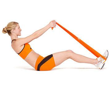 fast belly blaster ab toning resistance workout fitness