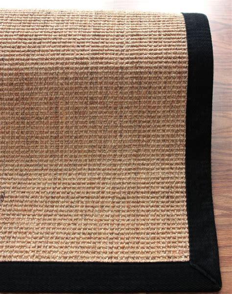 sisal herringbone rug rugs usa sisal herringbone black rug