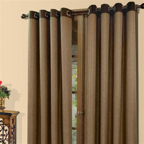 grommet drape grommet top curtains linen grommet top curtains set of 2