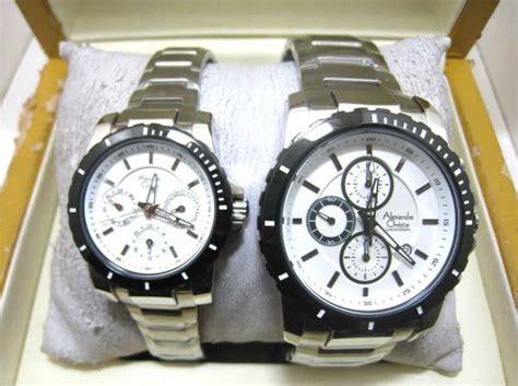 Ac 6141 Silver promo jam tangan alexandre christie ac6141 original