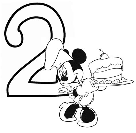 birthday coloring pages numbers