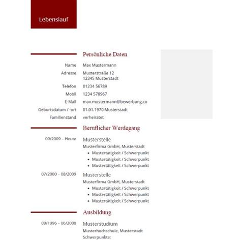 Cv Vorlagen Modern Modern Professional Cv Resume Template Modernes Professionelles Lebenslauf Muster