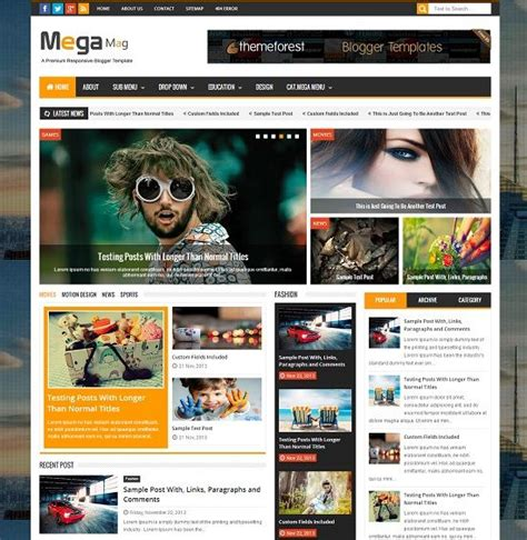 download themes blogger store mega mag magazine blogger template 187 abtemplates com