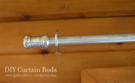 conduit curtain rods curtain rod from metal conduit diy pinterest