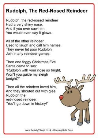 printable version of rudolph the red nosed reindeer free download from activity village rudolph the red nosed
