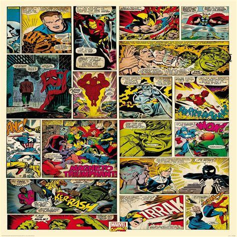 Marvel Comics Wall Mural 1 wall wallpaper mural marvel comics 1 58m x 2 32m
