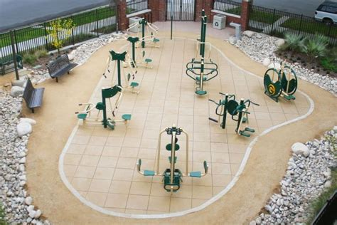 backyard gym equipment new foundation raising money for parks projects american canyon news