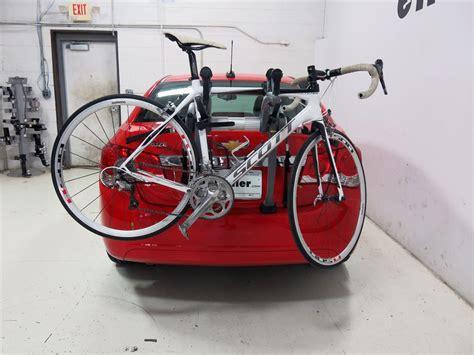 Prius Bike Rack by 2016 Toyota Prius Saris Bones 3 Bike Carrier Adjustable