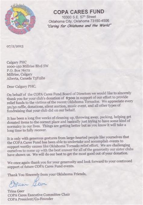 Thank You Letter Header calgary parrot club news the pinecone telegraph